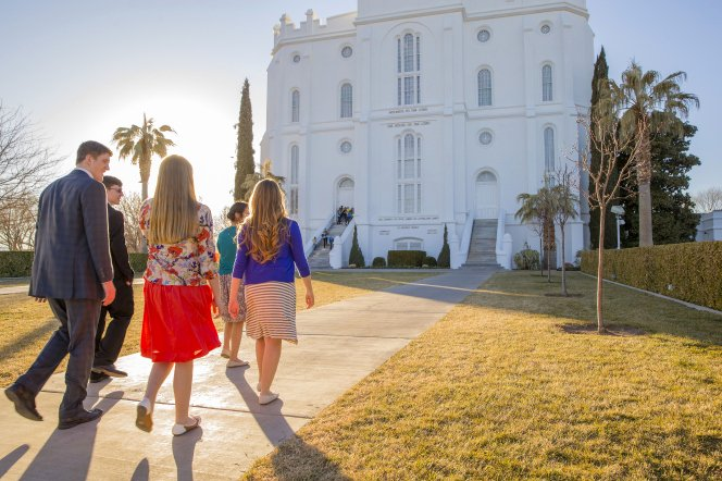 Lds Youth Permission Slip Inspirational Youth at St George Utah Temple