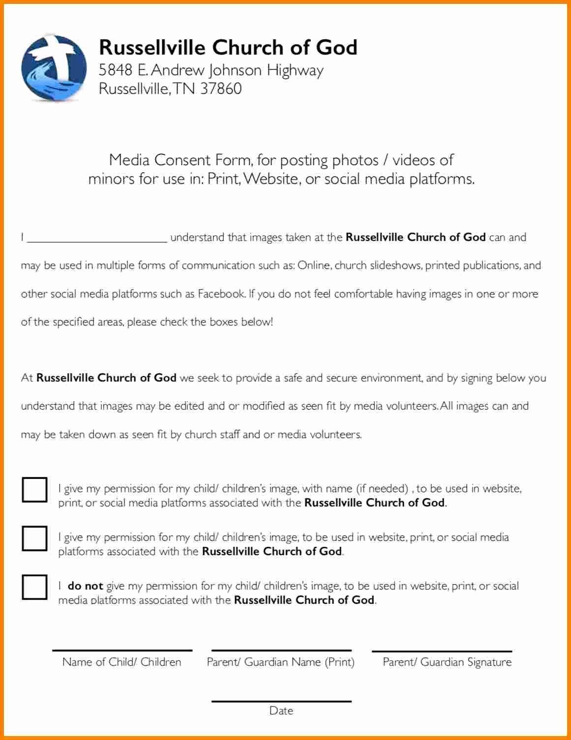 Lds Youth Permission Slips Best Of 8 Church Youth Group Permission Slip Template