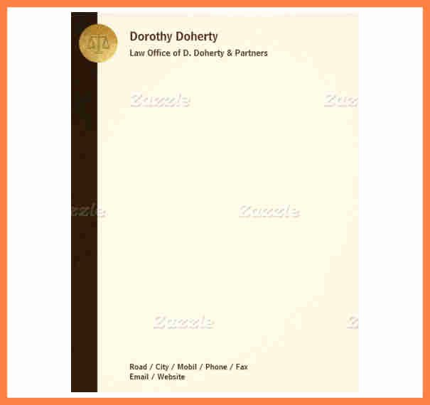 Legal Letterhead Templates Beautiful 10 Creating A Letterhead Template