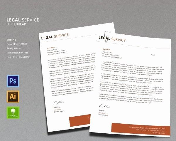 Legal Letterhead Templates Lovely 14 Legal Services Templates Psd Ai Eps Cdr format