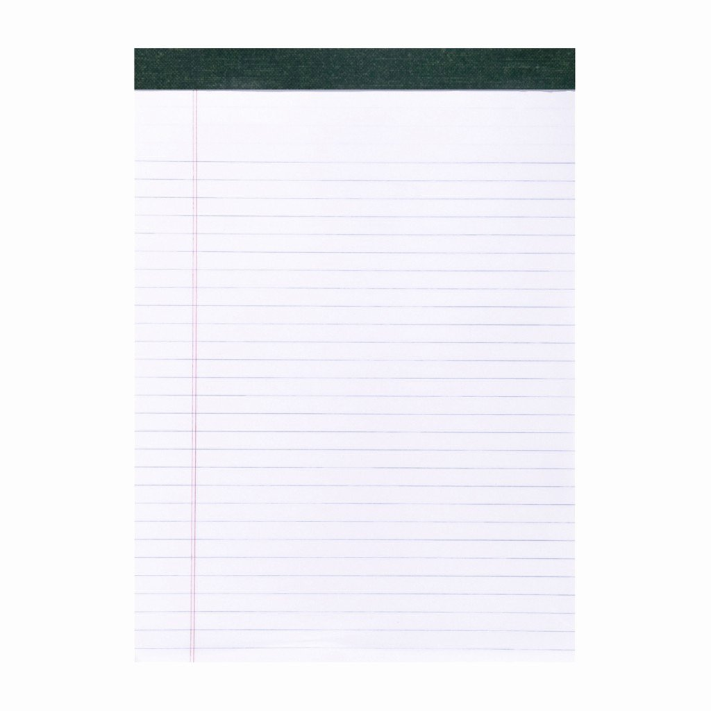 """Legal Pad Template Best Of Recycled Legal Pad 8 5""""x11 75"""" White"""