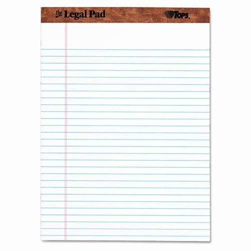 Legal Pad Template New Legal Rule Perforated Pads Letter Size White the Legal Pad