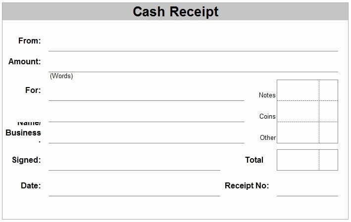 Legal Receipt for Cash Payment Elegant 6 Free Cash Receipt Templates Excel Pdf formats