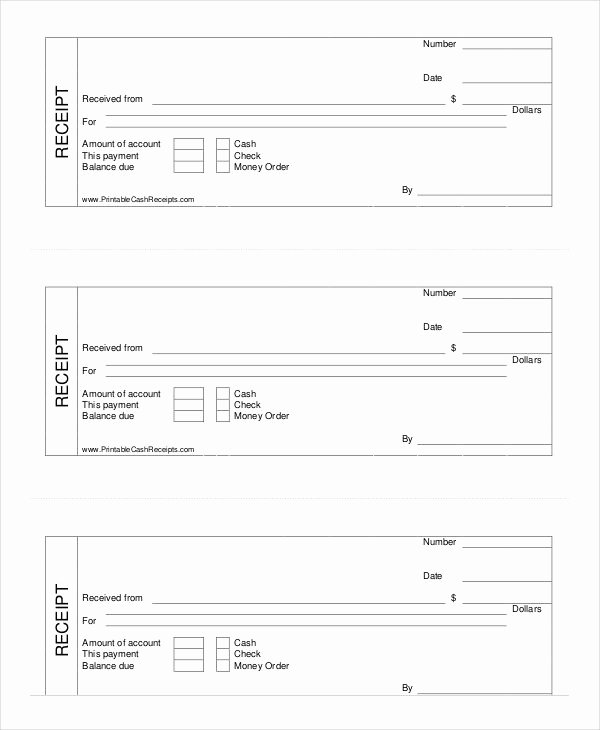 Legal Receipt for Cash Payment New Printable Cash Receipt Template Cash Receipt Template to