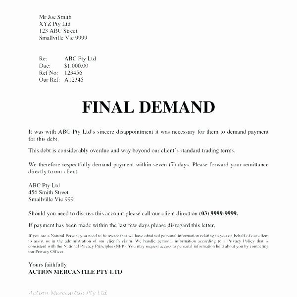 Legal Response Letter Template Elegant 50 Free Demand Letters Sample Templates