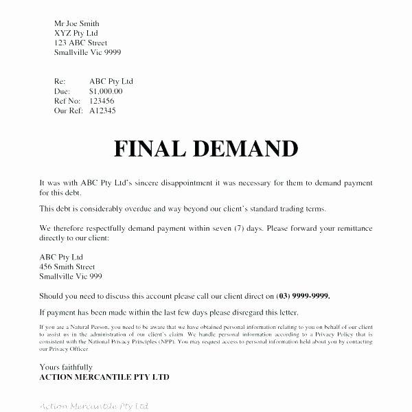 Legal Response Letter Template Elegant 50 Free Demand Letters Sample Templates