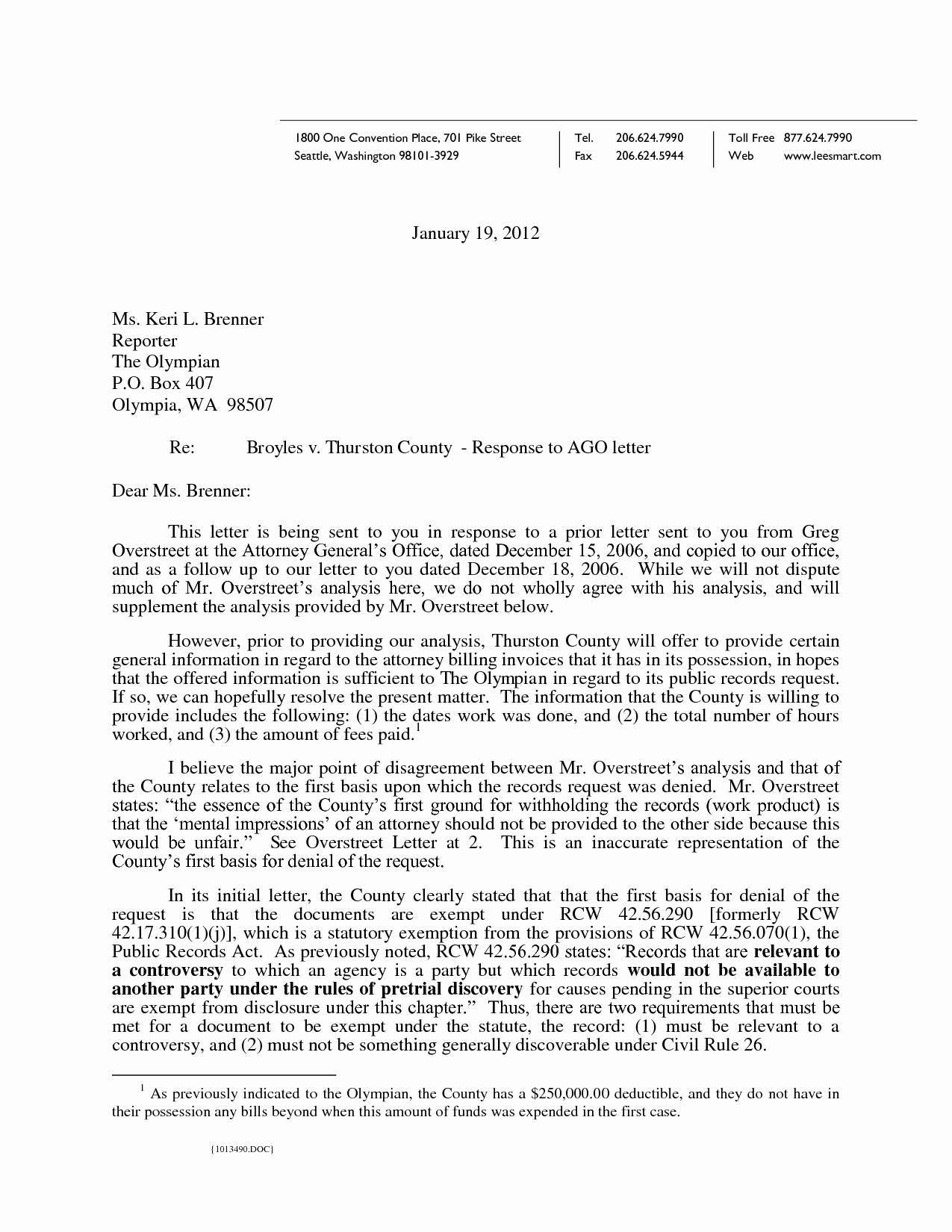 Legal Response Letter Template Elegant Best S Of Legal Demand Letter Sample Demand Letter