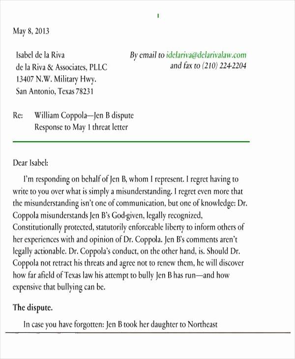Legal Response Letter Template Fresh 39 Demand Letter Samples Pdf Google Docs Apple Pages