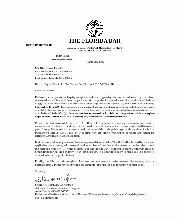 Legal Response Letter Template Inspirational Rebuttal Letter Template 5 Free Word Pdf Documents