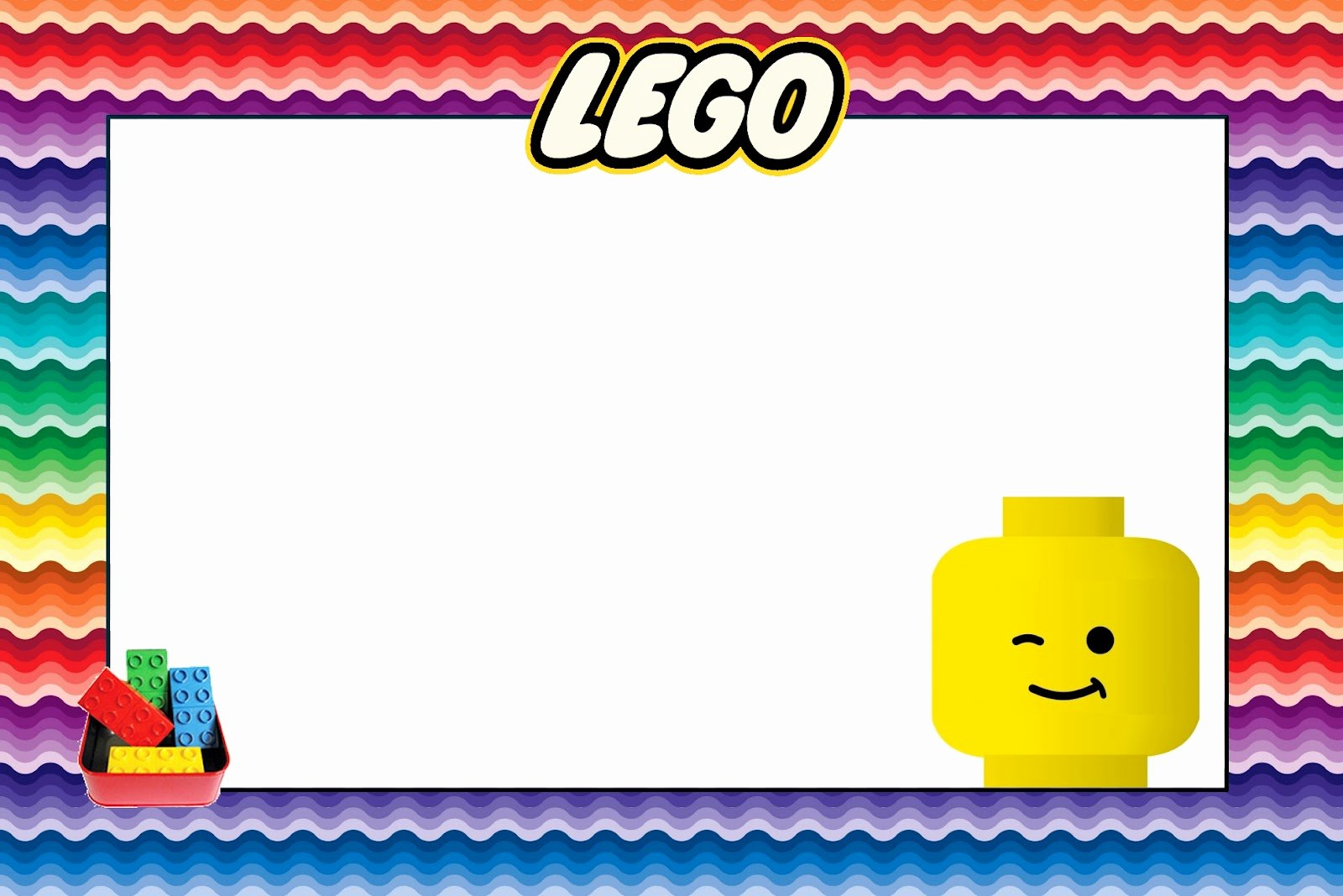 Lego Birthday Card Printable Lovely Lego Free Printable Invitations