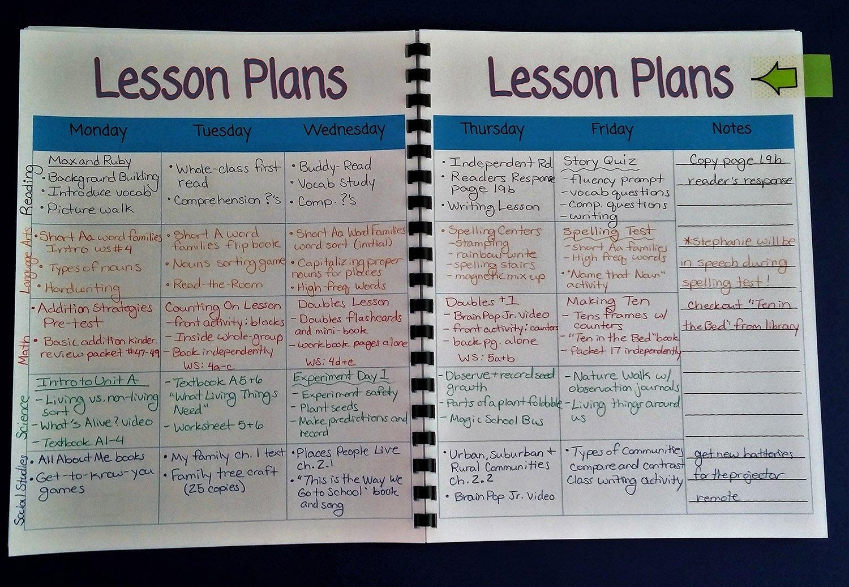 Lesson Plan Template for College Instructors Fresh Printable Teacher Planner