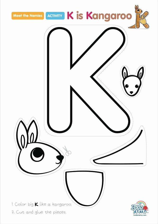 Letter A Template for Preschool Inspirational 25 Best Kangaroo Craft Ideas On Pinterest