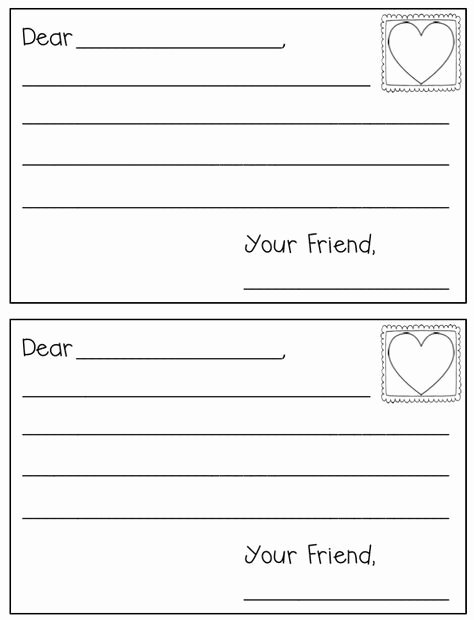 Letter A Template for Preschool Inspirational Letter Writing Template Preschool