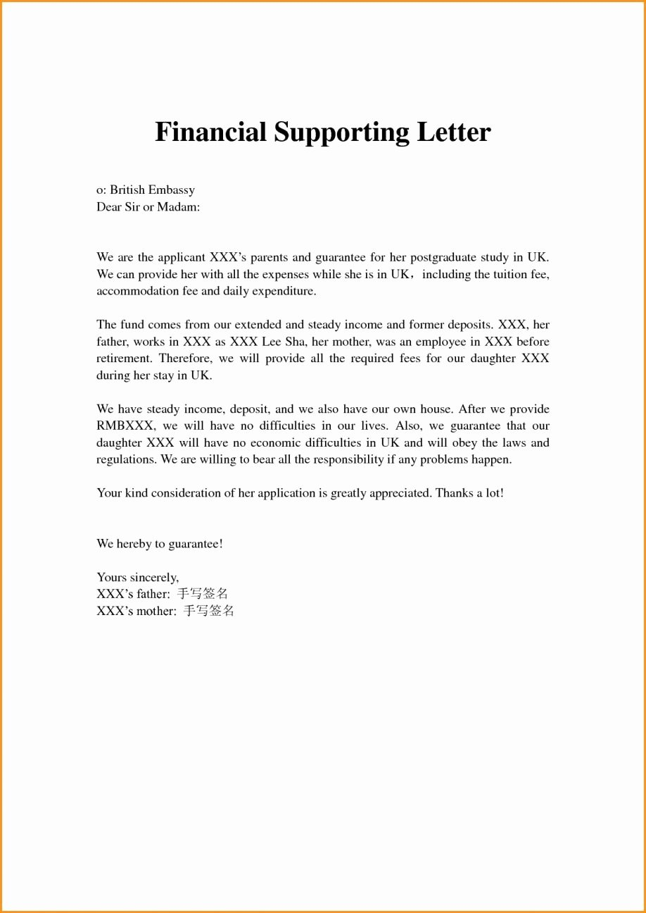 Letter asking for Financial Support Lovely Request for Financial assistance format Letter asking