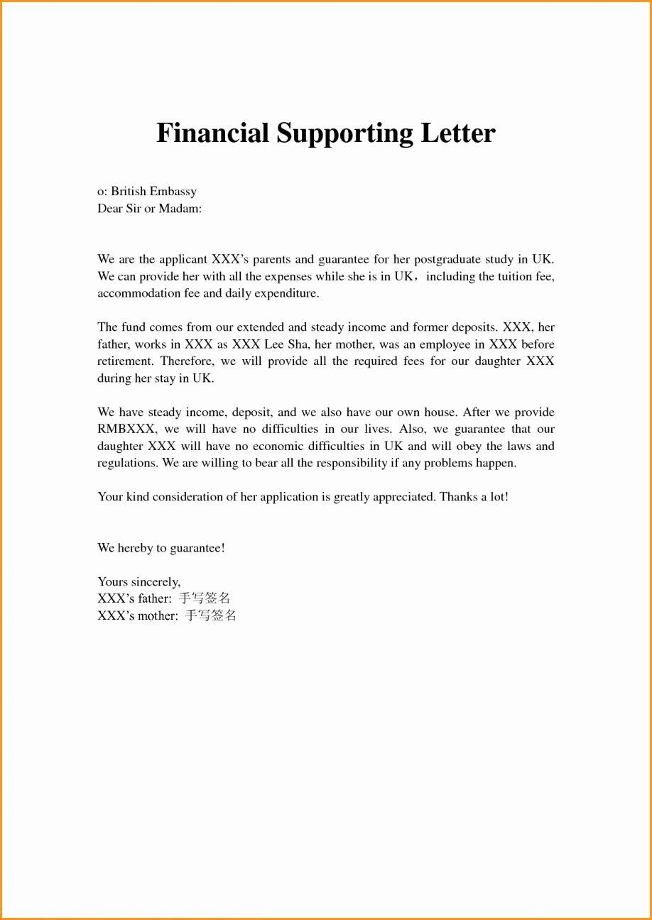 Letter asking for Financial Support Lovely Request for Financial assistance format Letter asking