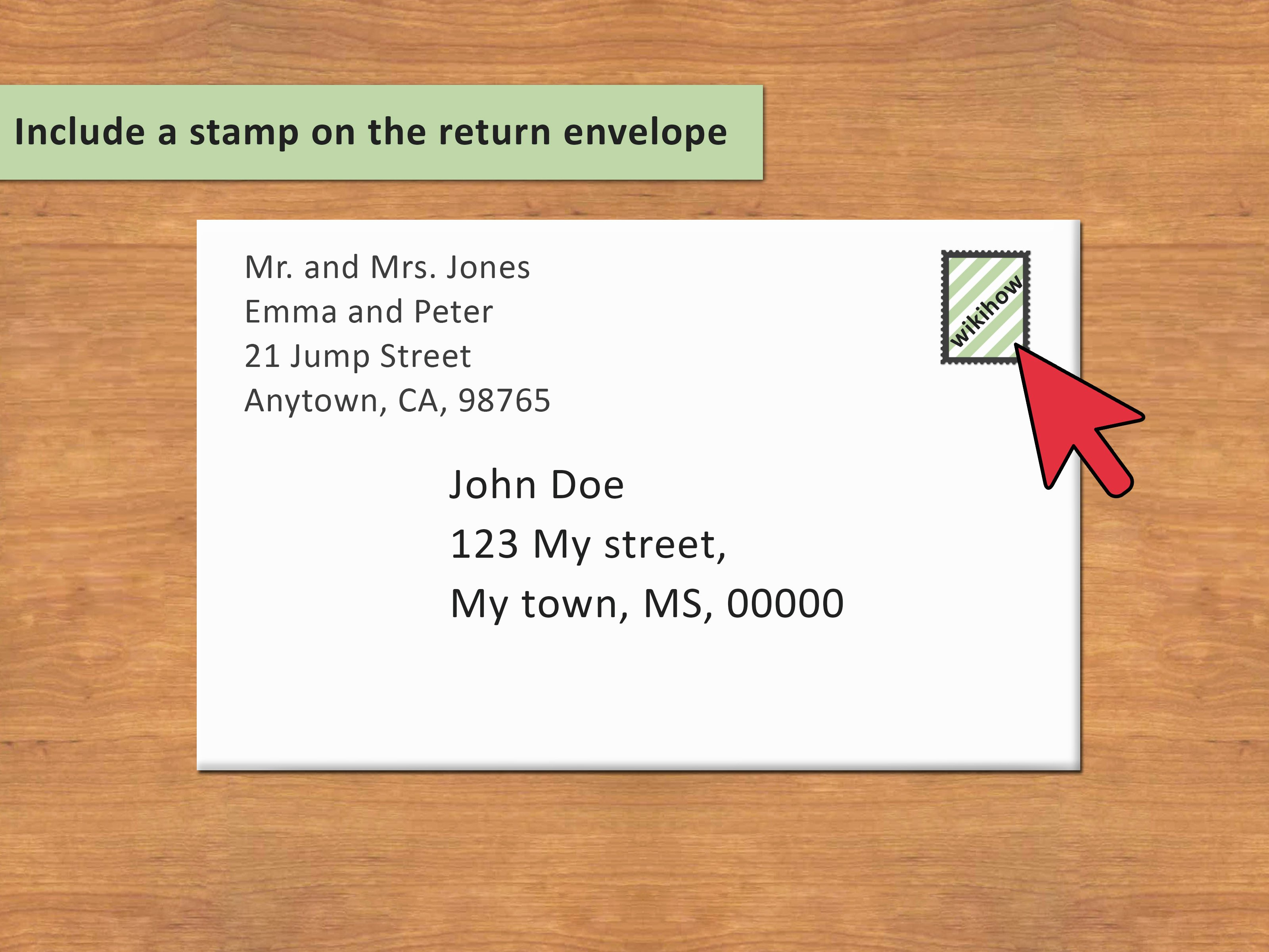 Letter Envelope Address Template Awesome 3 Ways to Address An Envelope to A Family Wikihow