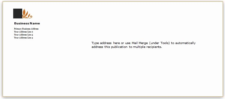 Letter Envelope Address Template Best Of 40 Editable Envelope Templates for Ms Word