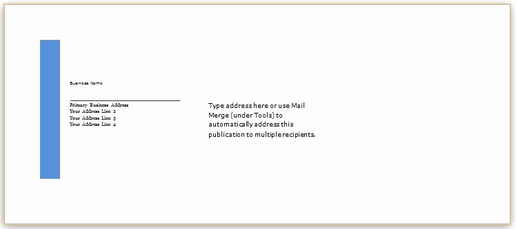 Letter Envelope Address Template Inspirational 40 Editable Envelope Templates for Ms Word