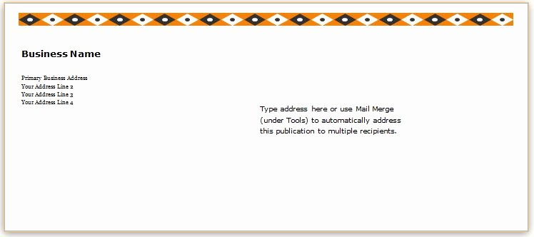 Letter Envelope Address Template New 40 Editable Envelope Templates for Ms Word
