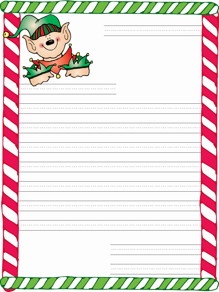 Letter From Santa Template Word Lovely Santa Letter Template 7 Hosted at Imgstor