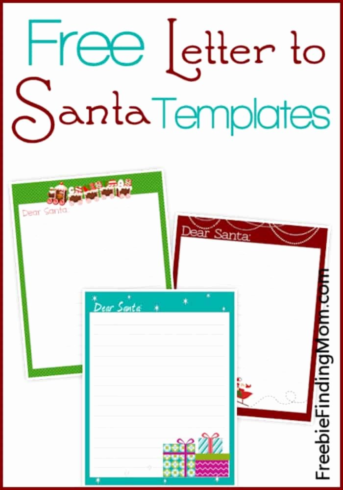 Letter From Santa Template Word New Free Printable Alphabet Templates and Other Printable Letters
