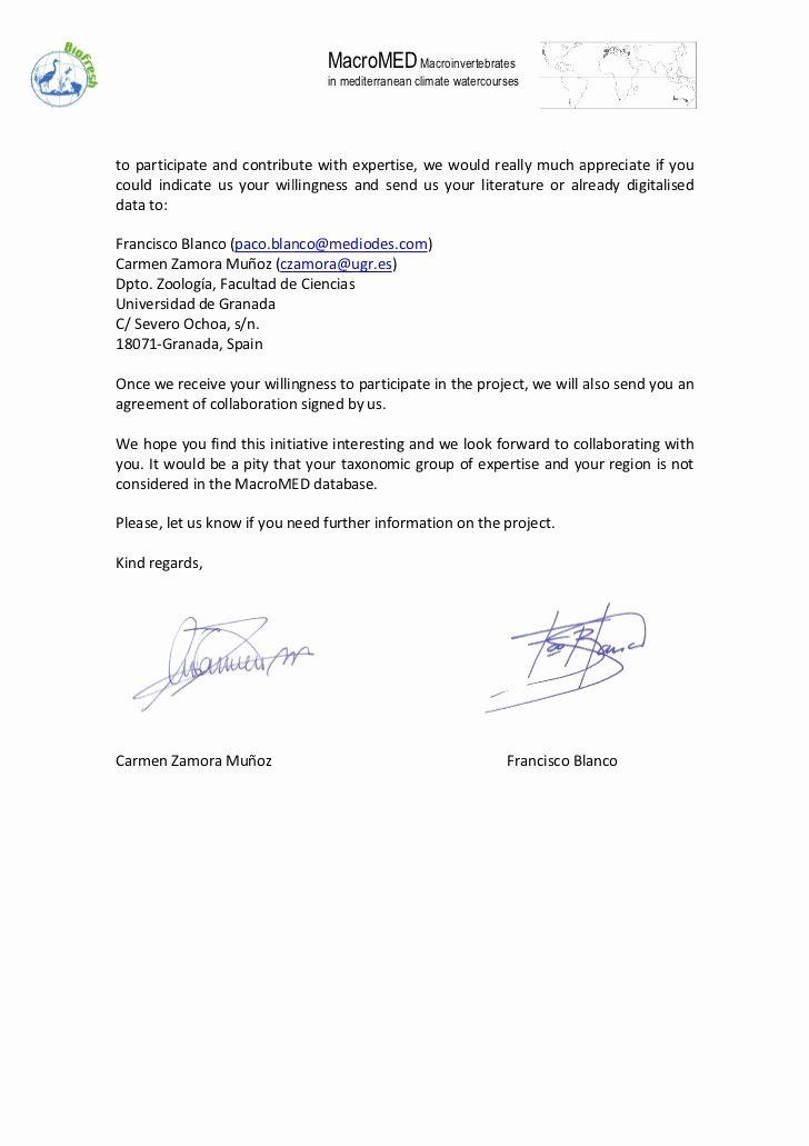 Letter Of Collaboration Awesome Collaboration Letter Taxonomist