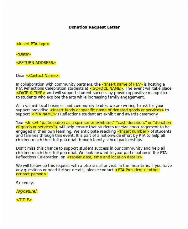 Letter Of Collaboration Best Of 18 Request Letter Templates Pdf Doc