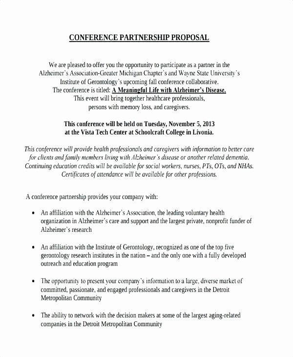 Letter Of Collaboration Unique 20 Business Collaboration Proposal Letter Sample