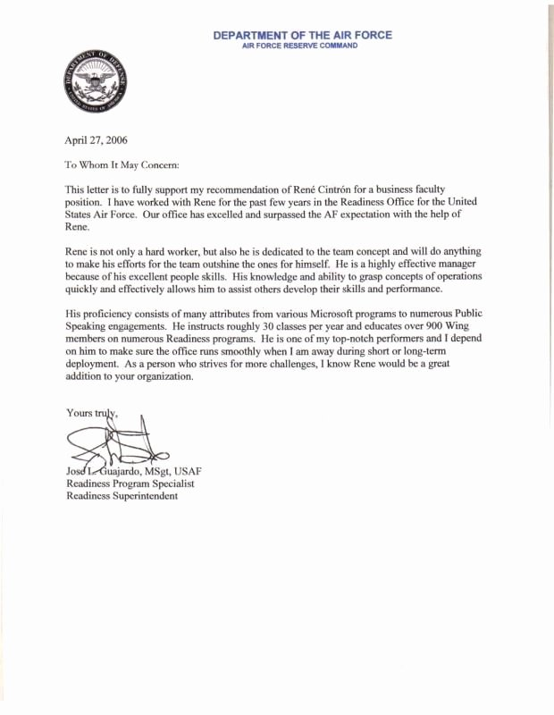 Letter Of Concern Army Example Lovely Best 25 Employee Re Mendation Letter Ideas On Pinterest