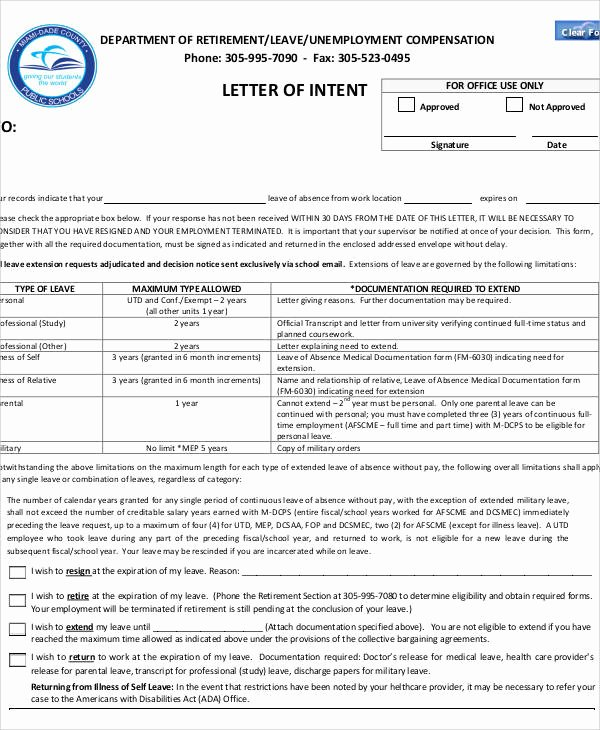 Letter Of Concern Army Example New 60 Letter Of Intent Examples Pdf Word Pages Google Docs