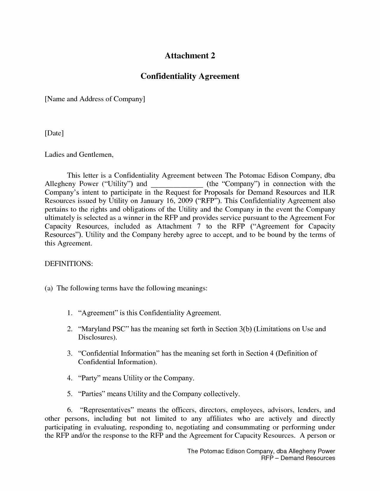 Letter Of Confidentiality Template Elegant Nice Personal Confidentiality Agreement Image Collection