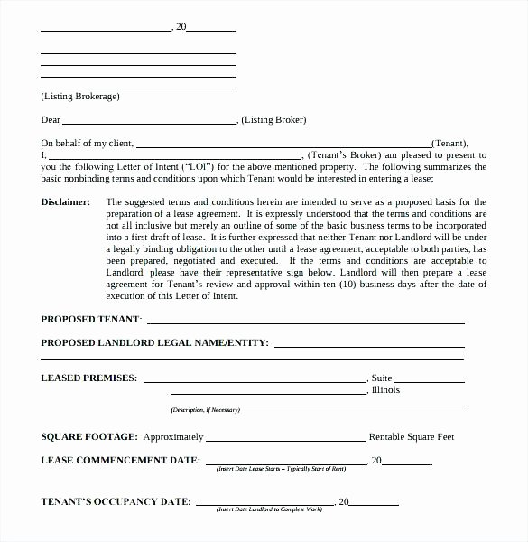 Letter Of Intent to Rent Property Best Of 13 Lease Proposal Examples Pdf Doc Apple Pages