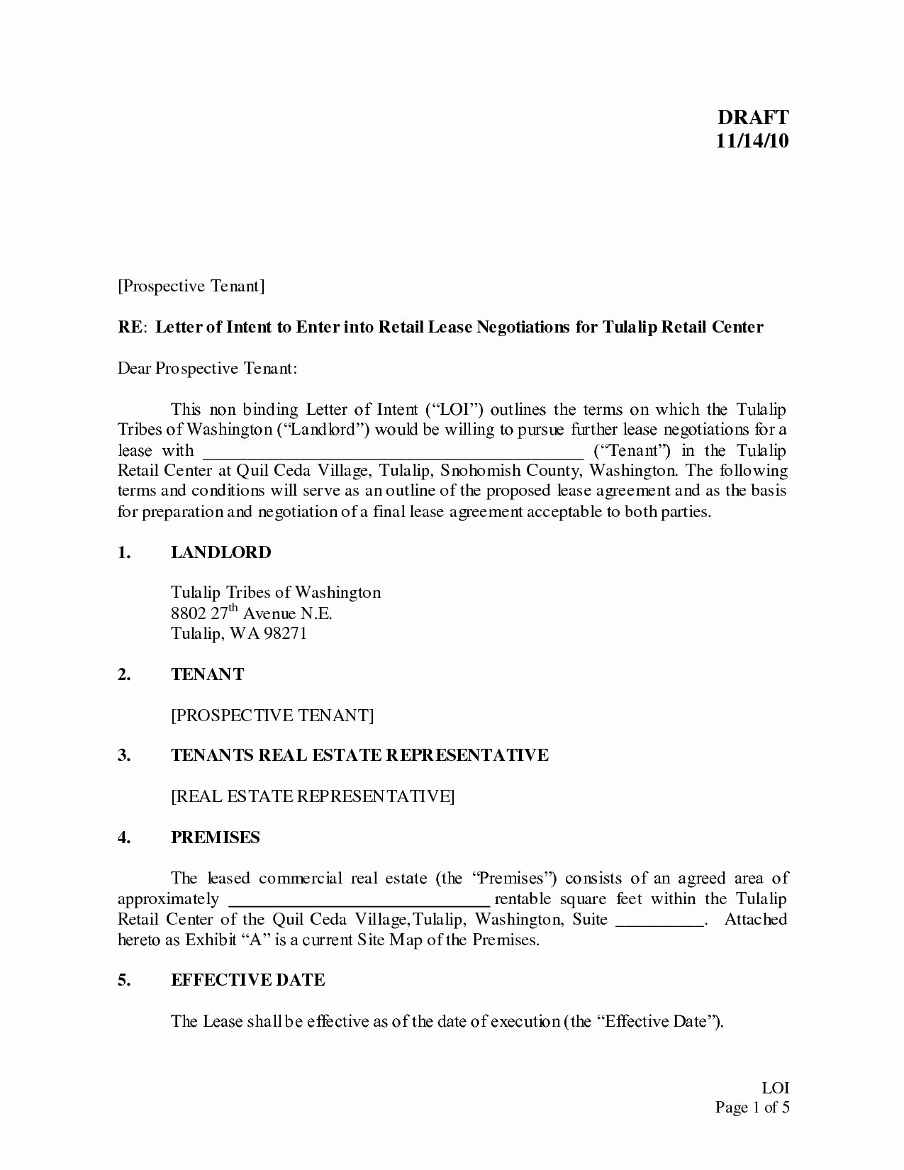 Letter Of Intent to Rent Property New Letter Intent to Retire Template Collection