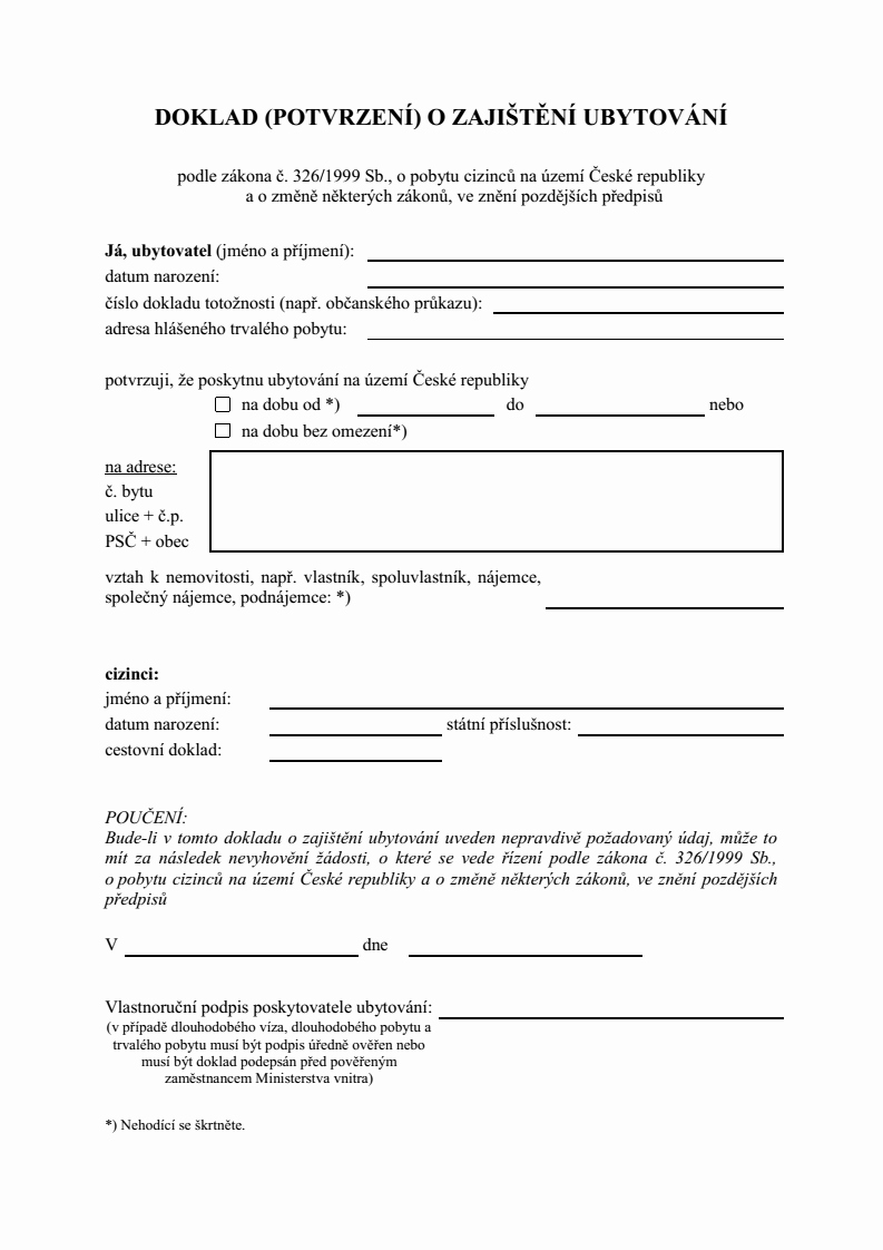 Letter Of Ownership Of Business Best Of Proof Ac Modation Letter