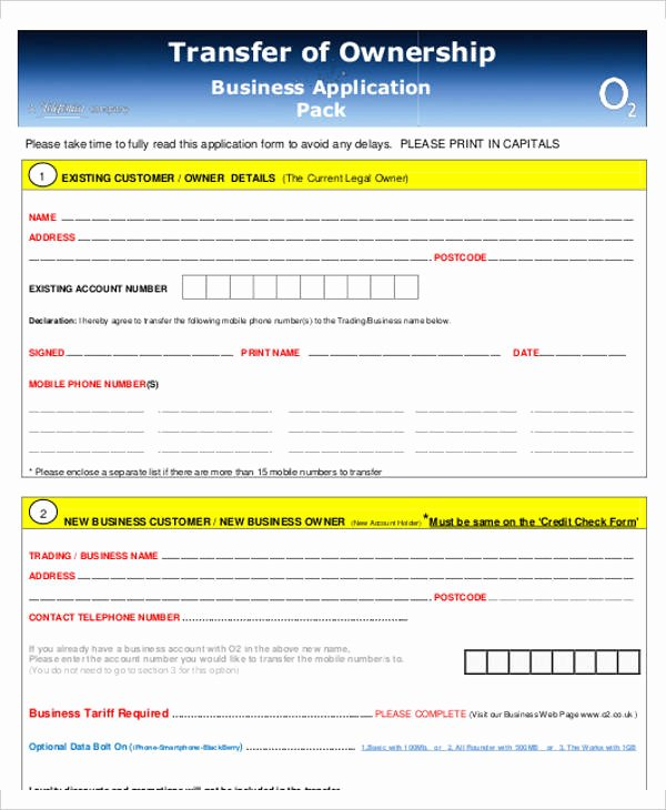 Letter Of Ownership Of Business New Business Transfer Letter Template 7 Free Word Pdf