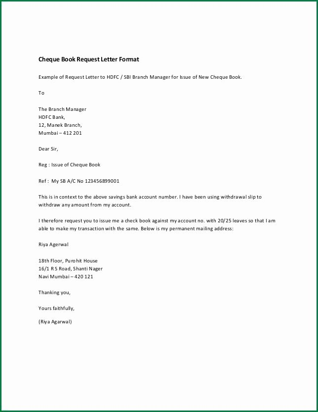 Letter to Close Bank Account New Letter format for Bank Account Closing Letter Of