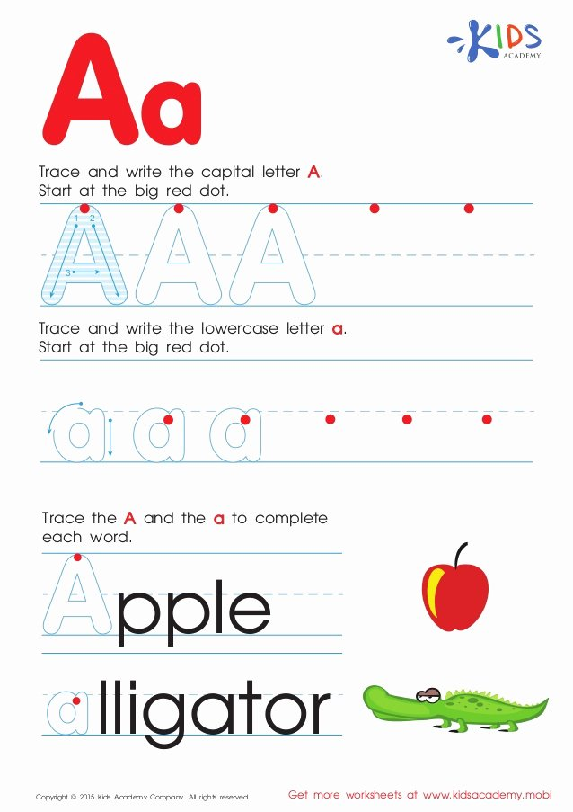 Letter to Garcia Pdf Awesome Free Alphabet Worksheets for Kids A Z