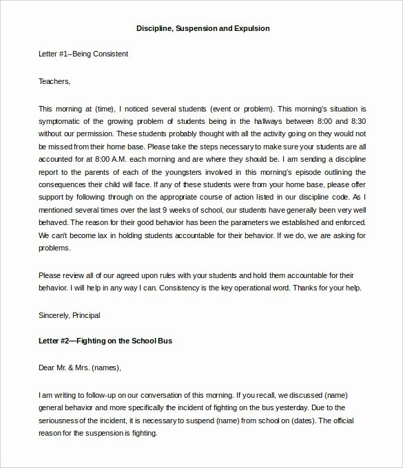 Letters to Parents Template Beautiful Awesome Sample Letter to Parents From Teacher About