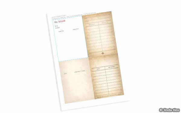 Library Checkout Card Template Luxury ♥printable Vintage Airmail Stationery Set♥ Free Pretty