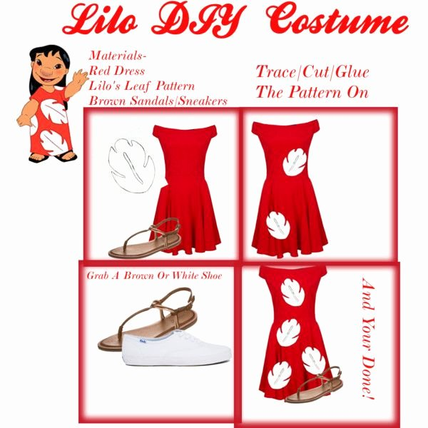 Lilo and Stitch Leaf Template Awesome Best 25 Lilo Costume Ideas On Pinterest