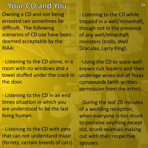 Liner Notes Examples Unique Cd Liner Notes Of the Distant Present