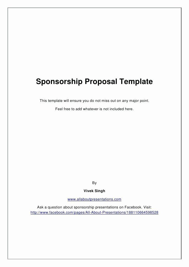 Liquor Sponsorship Proposal Awesome Wonderful Liquor Sponsorship Proposal Template