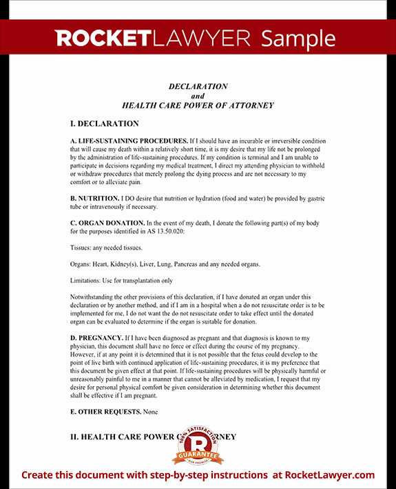 Living Agreement Template Best Of Alaska Living Will form Template with Sample