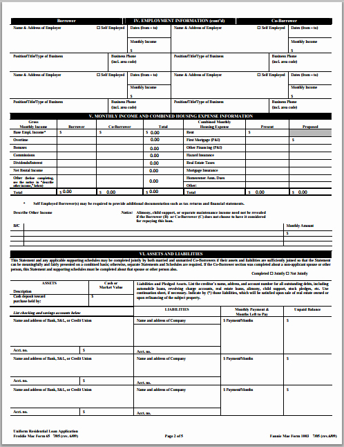 Loan Application Templates Fresh Ms Word Loan Application form format