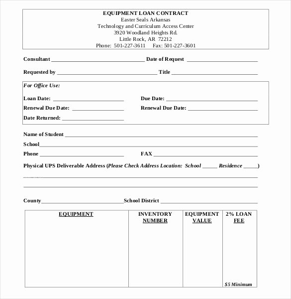 Loan form Template Beautiful 30 Loan Contract Templates – Pages Word Docs