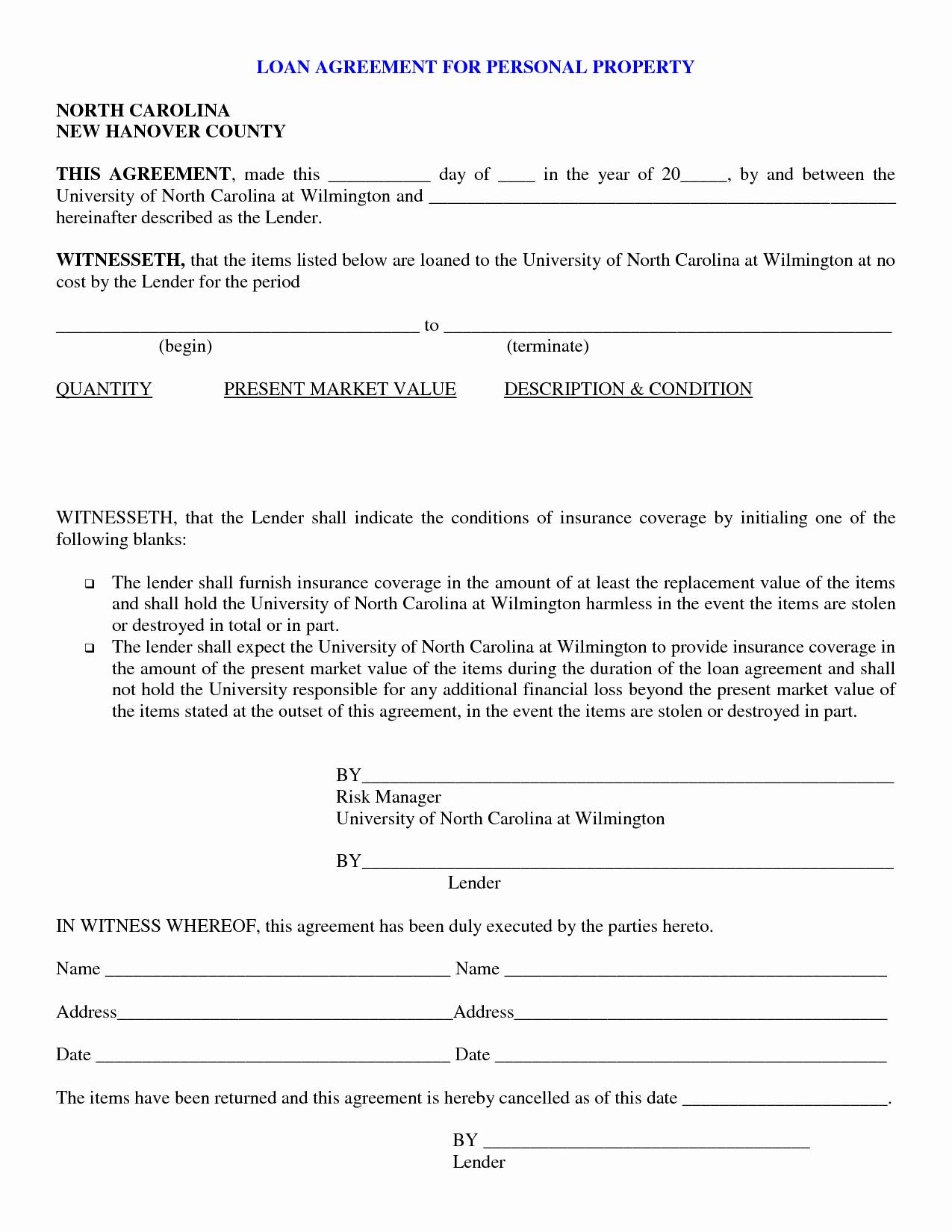 Loan form Template Unique Free Personal Loan Paperwork —bad Credit Car Loans
