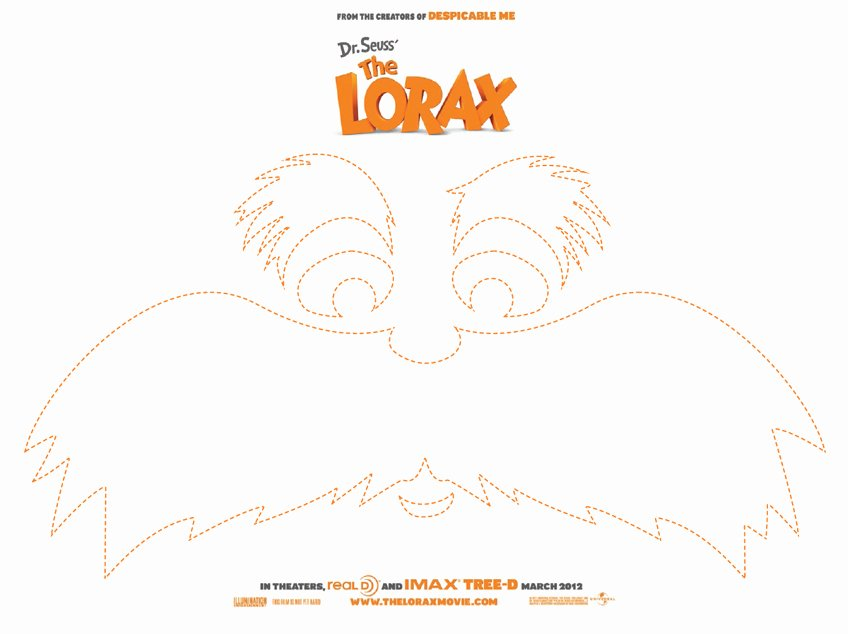 Lorax Eyebrow Template Lovely Get Creative with the Lorax Blog tour today S Creative Life