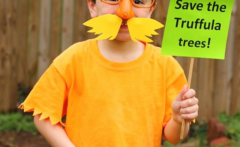 Lorax Mustache and Eyebrows Template Lovely Lorax Mustache Template Printable