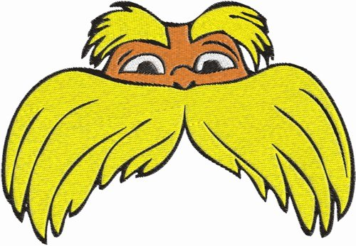 Lorax Mustache Printable Best Of Lorax Art Free Download Clip Art Free Clip Art