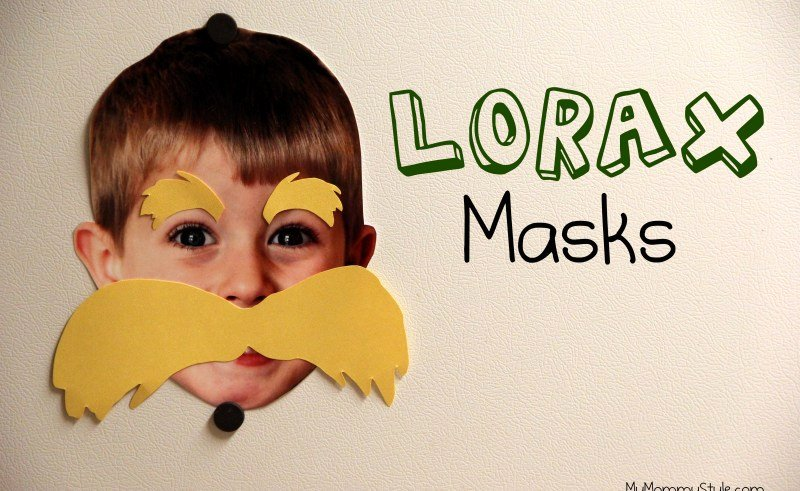 Lorax Mustache Printable Inspirational Lorax Mustache Template Printable